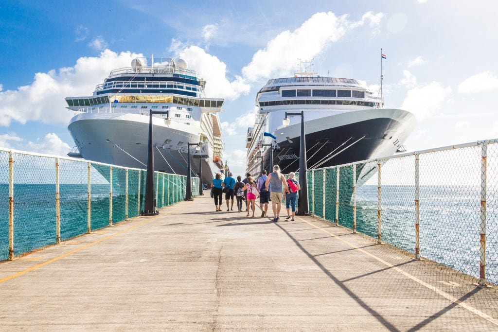 Cruise ship passengers returning to autism friendly cruise liners.