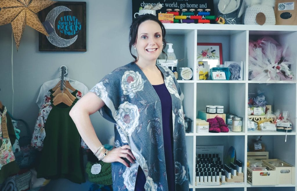 Alessa Martin, owner of Jumping Jacks, a sensory-friendly store.