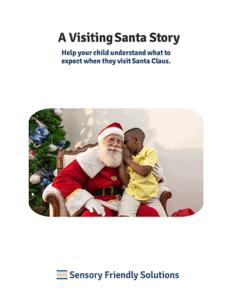 A Visiting Santa Story cover