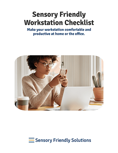Sensory Friendly Workstation Checklist cover