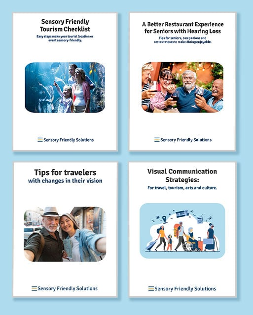 Covers of 4 downloadable resources as pds, organized in a grid.