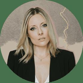 Canadian singer songwriter Christina Martin in black blazer